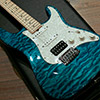 Classic Quilt Top - Bahama Blue - with EMG After Burner