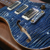 PRS Private Stock #3660 Studio Semi-Hollow - Steel Blue - Madagascar Rosewood Neck 【NAMM 2012】