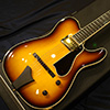 NITTONO GUITAR MODEL-T SEMI-HOLLOW T-BROWN Sunburst 2008