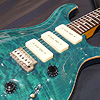 PRS 2000 Custom22 Soapbar Quilt Moon Inlay -Turquoise-