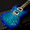David Thomas McNaught Guitars New Model MSG  - Teal Blue Burst - 【市販品世界第一号!】