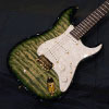 David Thomas McNaught One Off ST Model -Melon Lime- Diamond Quilt Top / Alder Back / Wenge Neck & FB
