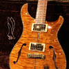 Paul Reed Smith(PRS) {BUG} Private Stock McCarty Semi-Hollow Double F-Hole with Purfling Around the Guitar