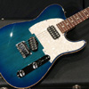 TOM ANDERSON(並行輸入品ほか) {BUG} 2014 Hollow T Classic contoured Alder - Bora to Transparent Blue Burst with Binding -