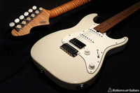 T's Guitars DST-Classic SSH RFMN 《Roasted Flame Maple Neck !!》※バリ虎指板 ※ASH BODY