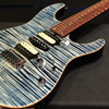 T's Guitars New! DST-Pro24 Mahogany Limited 2018 - Trans Blue Denim - 【限定モデル】